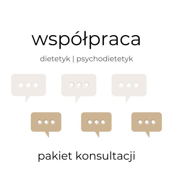 Oferta sklepu przyprawiona.com, pakiet konsultacji w ramach współpracy dietetyka i psychodietetyka