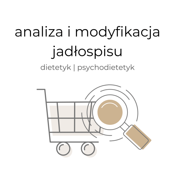 Produkt z oferty sklepu przyprawiona.com, analiza i modyfikacja jadłospisu przygotowana przez dietetyka i psychodietetyka